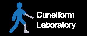 cuneiform lab white text